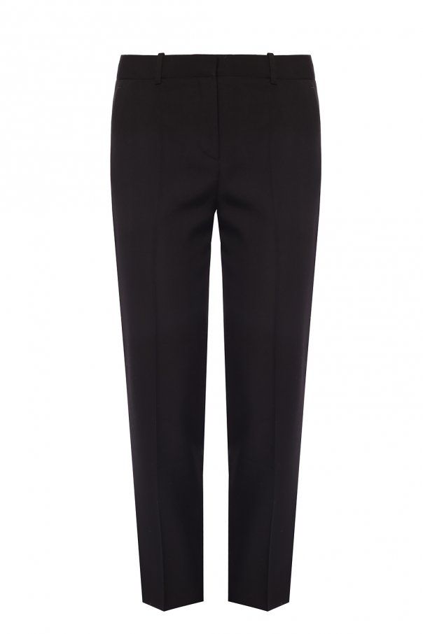 Givenchy Wool pleat-front trousers
