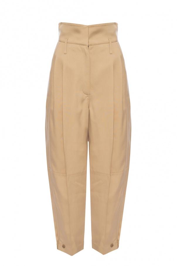 Givenchy Spodnie z wysokim stanem