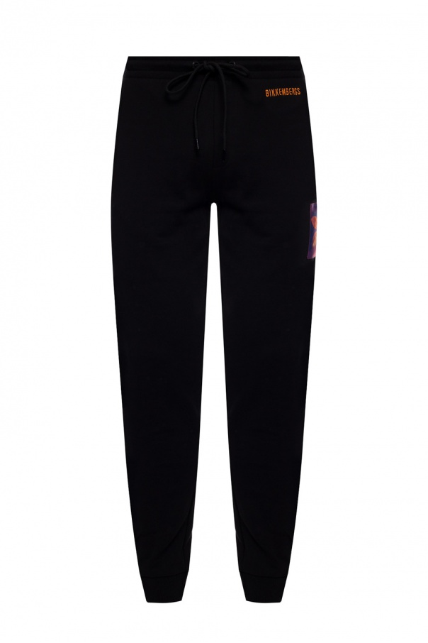 Dirk Bikkembergs Patched sweatpants