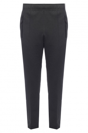 Trousers with zip cuffs od Moncler
