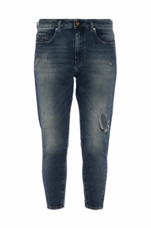 'candys-ne' jeans with holes od Diesel