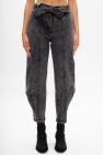 Ulla Johnson 'Carmen' jeans with worn effects