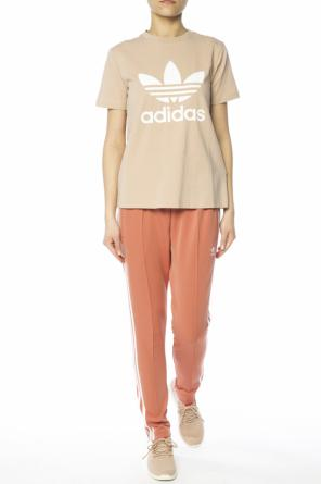 Embroidered logo trousers od Adidas