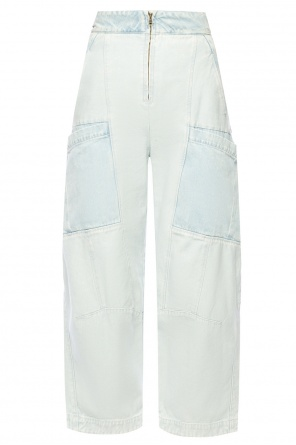 Loose-fit flared trousers od Chloe