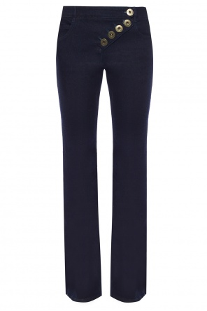 Flared trousers with decorative closure od Chloe