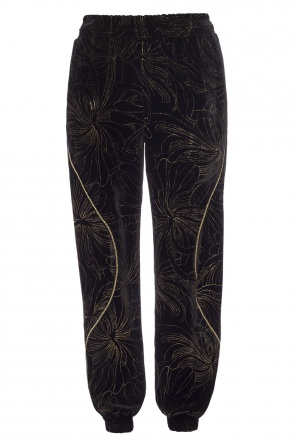 Embroidered trousers od Chloe