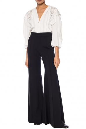 Wool flared trousers od Chloe