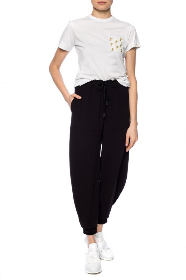 Trousers with inset pockets od Chloe
