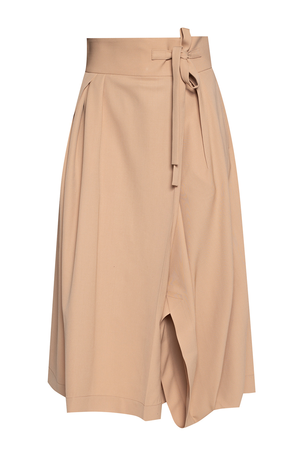 Chloé Asymmetric trousers with gathers
