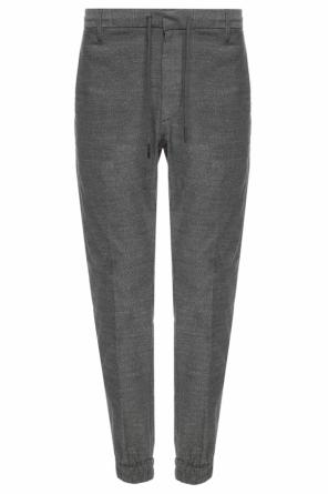 Elasticated cuff trousers od Diesel