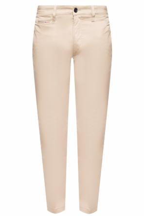 'chi-thommer-a' pleat-front trousers od Diesel
