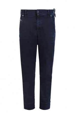 'chino-f-ne' high-waisted jeans od Diesel