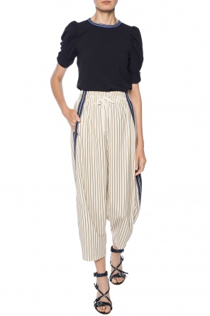 Trousers with stripes od See By Chloe