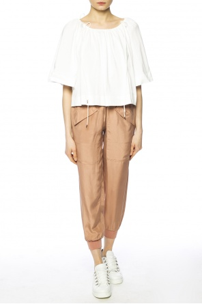 Elasticated cuff trousers od See By Chloe