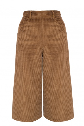 Flared corduroy trousers od See By Chloe