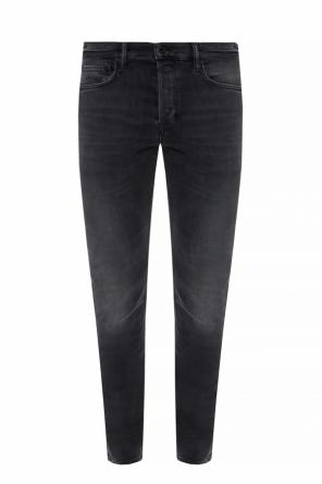'cigarette' distressed jeans od AllSaints