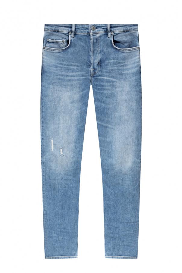 AllSaints 'Cigarette' stonewashed jeans