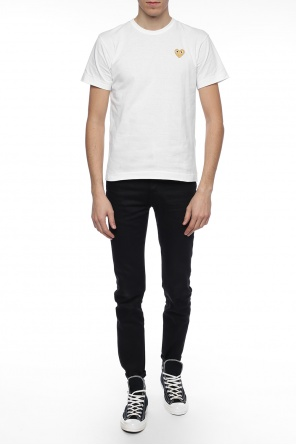 Patched trousers od Marcelo Burlon