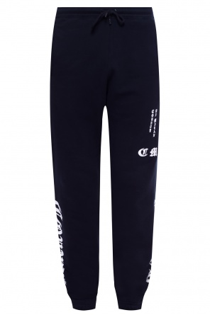 Sweatpants with a print od Marcelo Burlon