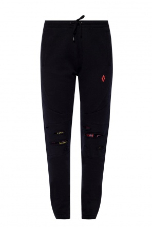 Branded sweatpants od Marcelo Burlon