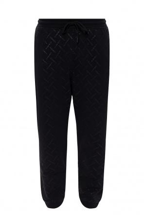 Printed sweatpants od Marcelo Burlon