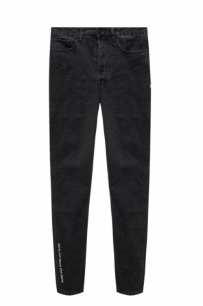 Embroidered jeans od Marcelo Burlon