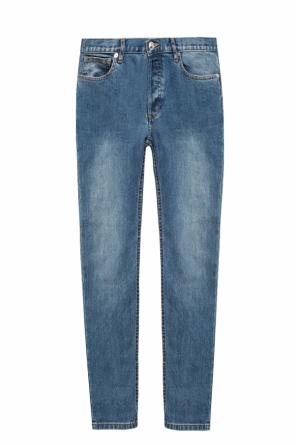 Tapered leg jeans od A.P.C