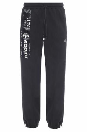 Cropped fleece pants od Adidas by Alexander Wang