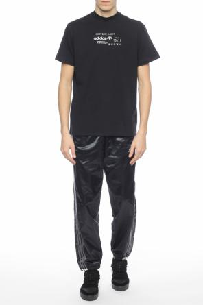 Trousers with stitched stripes od Adidas by Alexander Wang