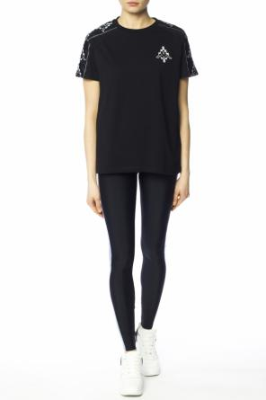 Side-stripe leggings od Marcelo Burlon