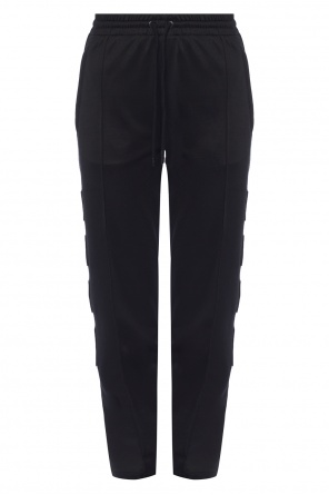 Patched sweatpants od Marcelo Burlon