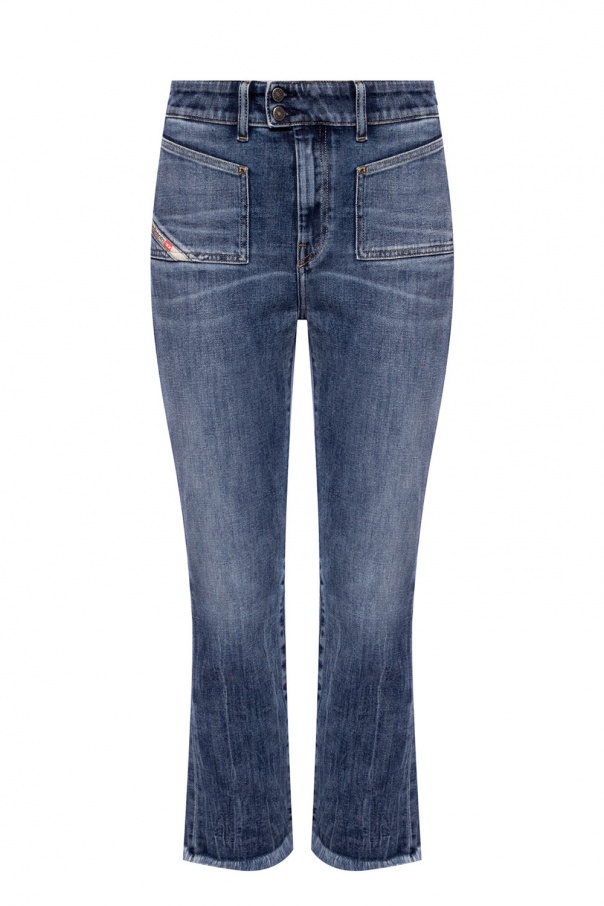 Diesel 'D-Earlie' high-waisted jeans
