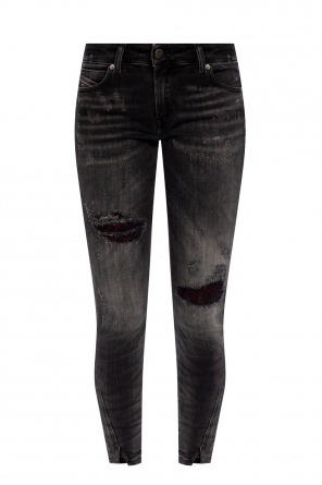 'd-jevel' distressed jeans od Diesel