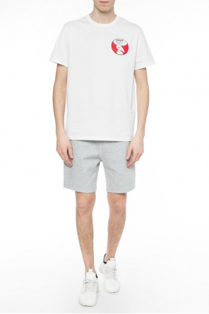 Sweat shorts with logo od Moncler