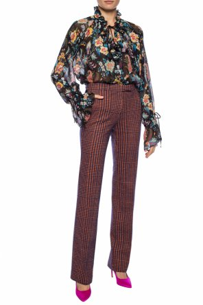 Creased trousers od Etro