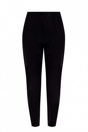 Corset fastening trousers od Etro
