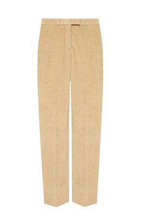 Corduroy trousers od Etro