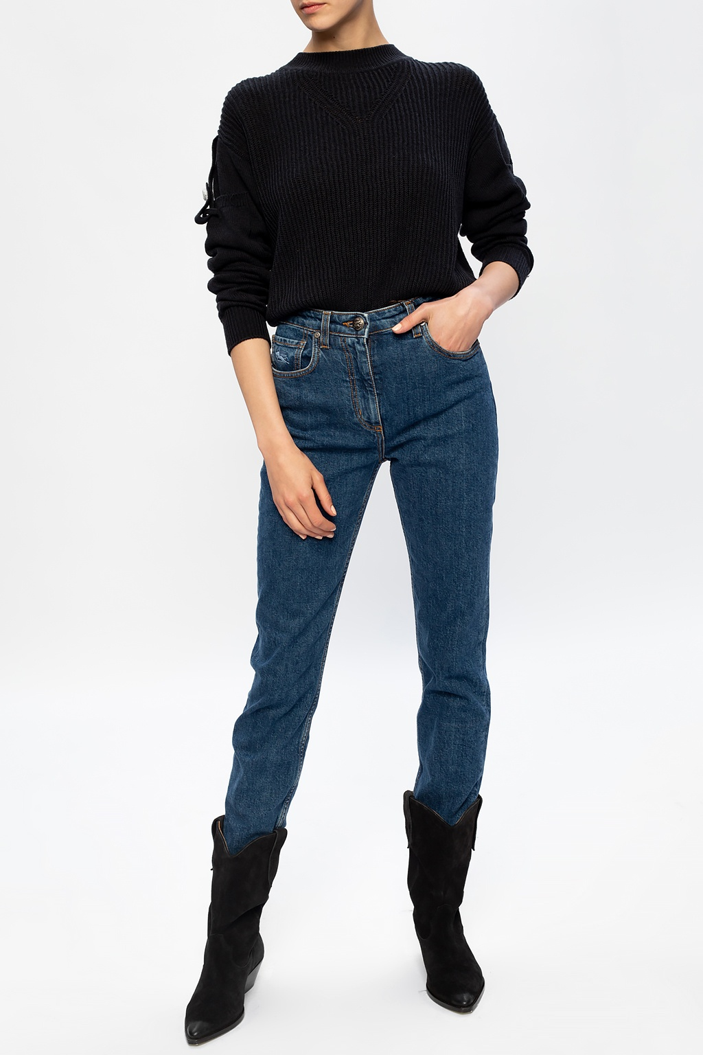 Etro Logo jeans