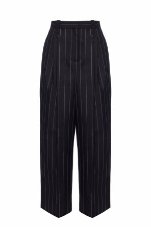 Striped wool trousers od Loewe