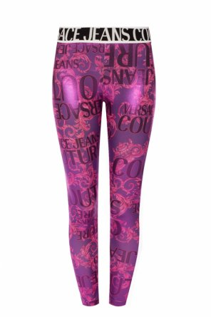 Patterned leggings od Versace Jeans Couture