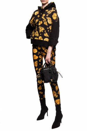 Baroque print leggings od Versace Jeans Couture