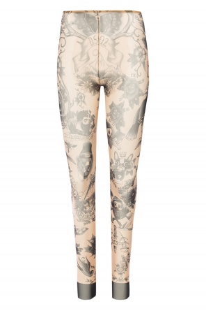 Trousers with tattoo motif od Dsquared2
