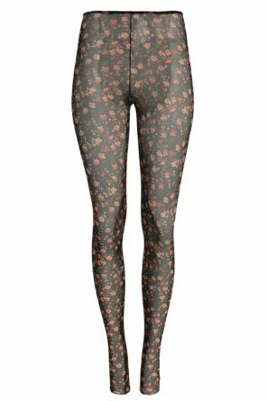 Floral motif sheer leggings od Dsquared2
