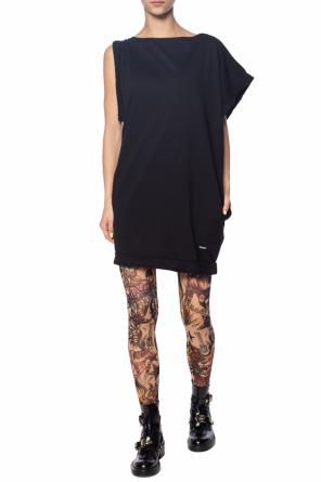 Leggings with a tattoo motif od Dsquared2