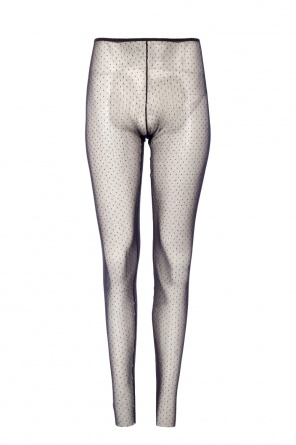 Polka dot sheer leggings od Dsquared2