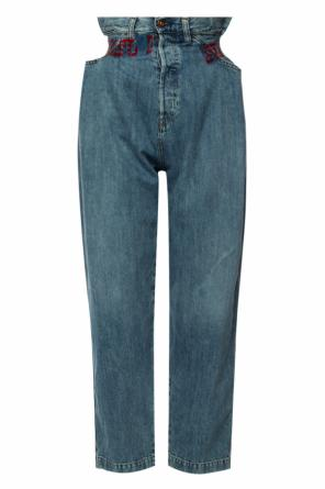High-waisted wide jeans od Diesel