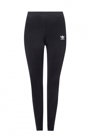 Leggings with an embroidered logo od ADIDAS Originals