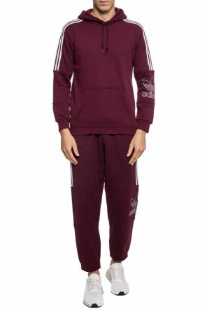 Sweatpants with an embroidered logo od ADIDAS Originals
