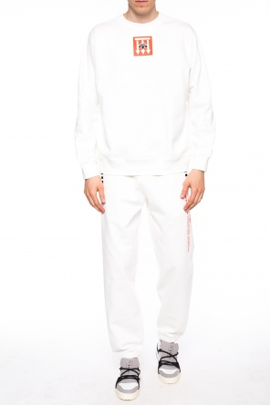 Printed sweatpants od ADIDAS by Alexander Wang