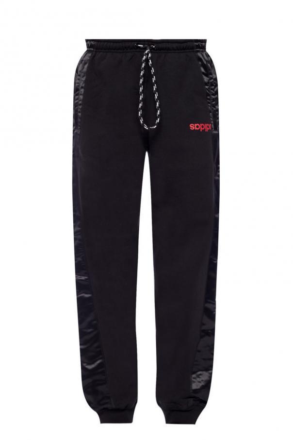 9942b953bf29 Spodnie dresowe z logo ADIDAS by Alexander Wang - sklep internetowy ...